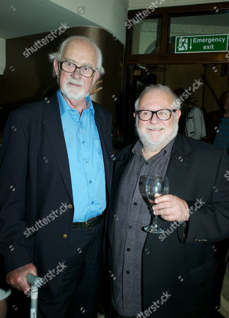 Yes Prime Minister Returns to the West End Opening at Apollo Theatre Shaftesbury Avenue London the Show's Writers Antony Jay and Jonathan Lynn