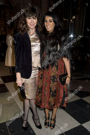 'Alexander Mcqueen: Savage Beauty' Private View at the V&a Jess Morris and Serena Rees