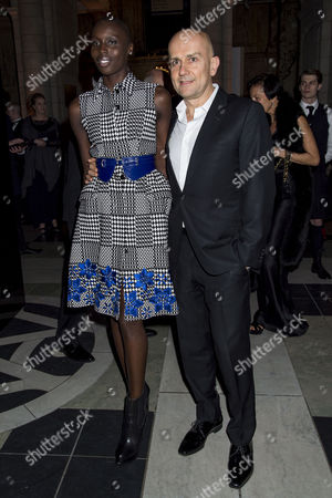 'Alexander Mcqueen: Savage Beauty' Private View at the V&a Marc Quinn and Jenny Bastet