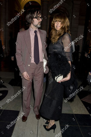 'Alexander Mcqueen: Savage Beauty' Private View at the V&a Jarvis Cocker and Kim Sion