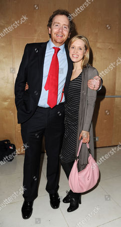 'All New People' Press Night After Party at St Martins Lane Hotel Beth Cordingly with Her Husband Producer Adam Speers