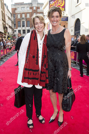 'Charlie and the Chocolate Factory' Press Night at the Theatre Royal Drury Lane Lucy and Ophelia Dahl - Daughters of Roald Dahl