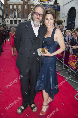 'Charlie and the Chocolate Factory' Press Night at the Theatre Royal Drury Lane Tamsin Greig with Her Husband Richard Leaf