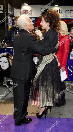 'Dark Shadows' European Premiere at the Empire Leicester Square Richard D Zanuck Greets Helena Bonham-carter