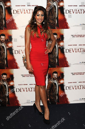 'Deviation' Uk Premiere at Odeon Covent Garden Layla Flaherty