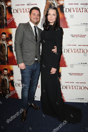'Deviation' Uk Premiere at Odeon Covent Garden Danny Dyer and Anna Walton