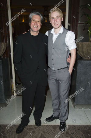 'Dreamboats and Petticoats' Press Night at Wyndham's Theatre and After Party at the Waldorf Hotel David Cardy and David Ribi