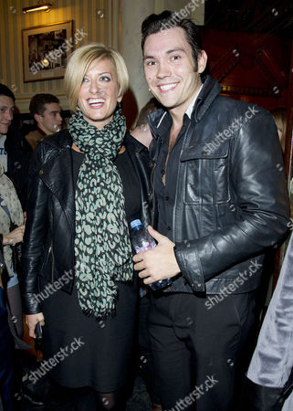 'Dreamboats and Petticoats' Press Night at Wyndham's Theatre and After Party at the Waldorf Hotel Caroline Feraday and Sam Attwater