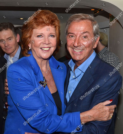 'Dreamboats and Petticoats' Press Night at the Playhouse Theatre Charing Cross Cilla Black and Des O'connor