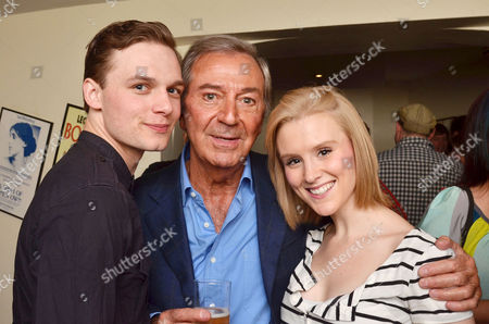 'Dreamboats and Petticoats' Press Night at the Playhouse Theatre Charing Cross Scott Bruton Des O'connor and Charlotte Jeffery