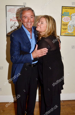 'Dreamboats and Petticoats' Press Night at the Playhouse Theatre Charing Cross Des O'connor with His Wife Jodie