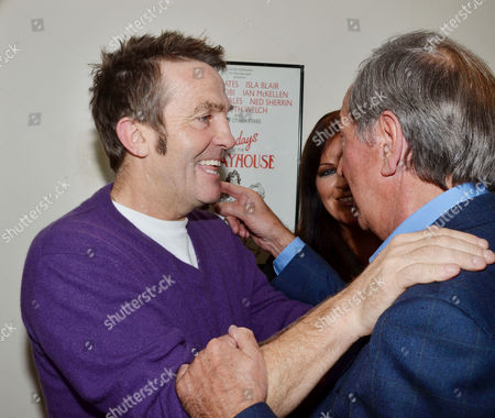 'Dreamboats and Petticoats' Press Night at the Playhouse Theatre Charing Cross Bradley Walsh and Des O'connor