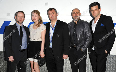 Stock Image of 'Ecstasy' World Premiere at Ministry of Sound Elephant and Castle Billy Boyd Olivia Andrup Adam Sinclair Ashley Pover Carlo Rota and Adam Sinclair