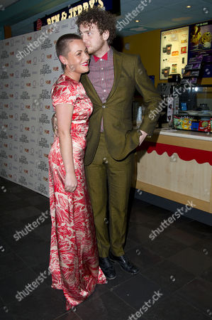 'Elfie Hopkins' World Premiere at the Vue Leicester Square Jaime Winstone with Her Boyfriend Tom Beard