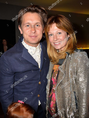 'Epic' Gala Film Screening at the Vue Westend Leicester Square Mark Owen with His Wife Emma Ferguson