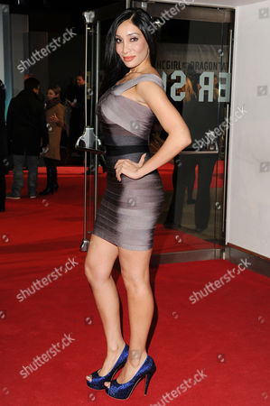'Girl with the Dragon Tattoo' World Premiere at the Odeon Leicester Square Sophia Hyatt