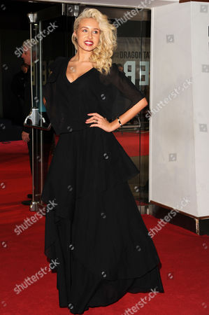 Stock Picture of 'Girl with the Dragon Tattoo' World Premiere at the Odeon Leicester Square Maisy James