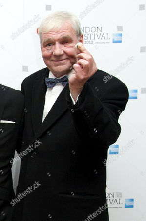 'Good Vibrations' Screening at the Odeon Westend During the 56th Bfi London Film Festival Terri Hooley Shows Off His Glass Eye