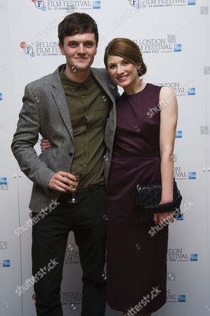 'Good Vibrations' Screening at the Odeon Westend During the 56th Bfi London Film Festival Kerr Logan and Jodie Whittaker