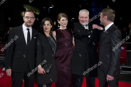 'Good Vibrations' Screening at the Odeon Westend During the 56th Bfi London Film Festival Directors Glenn Leyburn and Lisa Barros D'sa Jodie Whittaker Terri Hooley and Richard Dormer