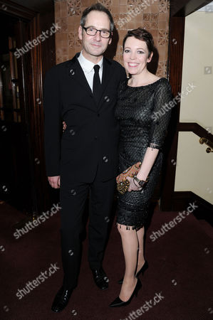 'Hayfever' Gala Performance After Party at the Royal Horseguards Hotel Jeremy Northam and Olivia Colman