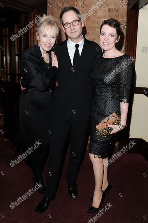 'Hayfever' Gala Performance After Party at the Royal Horseguards Hotel Lindsay Duncan Jeremy Northam and Olivia Colman