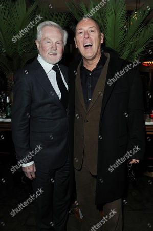 'Henry V' Press Night Afterparty at the National Portrait Gallery Cafe Derek Jacobi with His Partner Richard Clifford