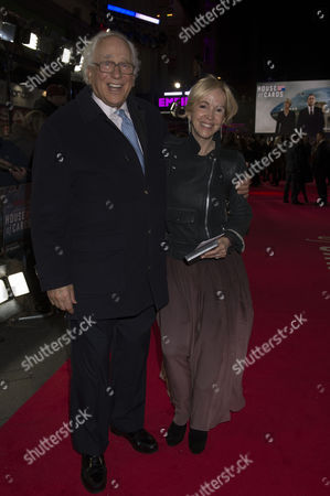 the World Premiere of 'House of Cards' Season 3 at the Empire Cinema Sir Evelyn De Rothschild & Sally Greene