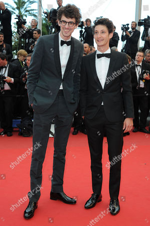 'Inside Llewyn Davis' Red Carpet at the Palais Des Festivals During the 66th Cannes Film Festival Hugo Gelin and Pierre Niney