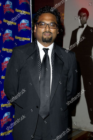 Stock Picture of 'Keith Lemon the Movie' World Premiere After Party at the Hard Rock Cafe Director Paul Angunawela