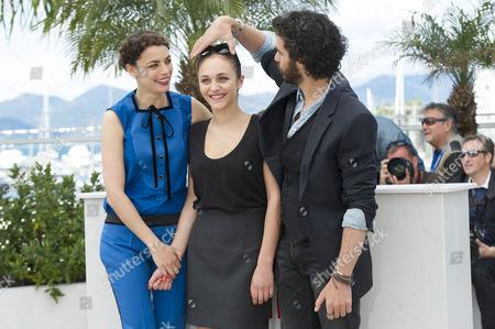 'Le Passe' Photocall at the Palais Des Festivals During the 66th Cannes Film Festival Berenice Bejo Pauline Burlet Tahar Rahim