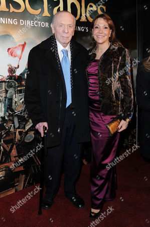 'Les Miserables' After Party at the Roundhouse Camden Herbert Kretzmer with His Wife Sybil