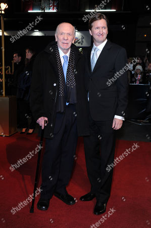 'Les Miserables' World Premiere at the Empire Leicester Square Herbert Kretzmer and Tom Hooper