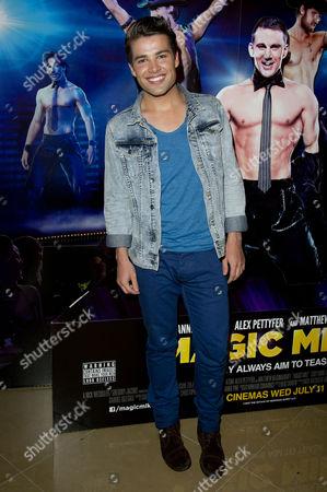 Stock Photo of 'Magic Mike' European Premiere at the Mayfair Hotel Joseph Mcelderry