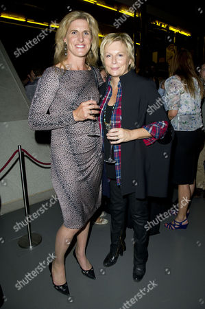 'Mamma Mia' Special Gala Children in Need Performance at the Novello Theatre and After Party at the London Transport Museum Tina Cook and Jennifer Saunders