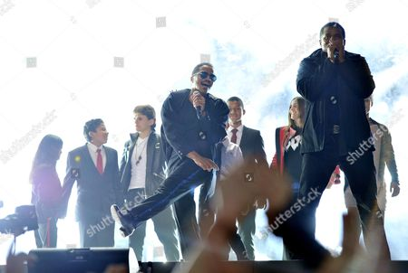 'Michael Forever' Concert at the Millenium Stadium Wales Blanket Jackson Jermajesty Jackson Prince Jackson Jermaine Jackson and Marlon Jackson