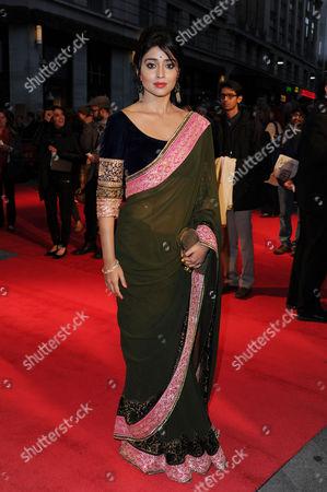 'Midnight's Children' Screening at the Odeon Westend During the 56th Bfi London Film Festival Shriya Saran