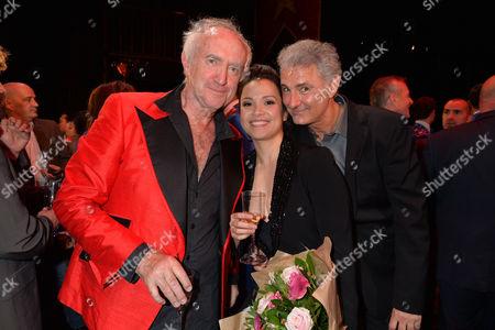 'Miss Saigon' 25th Anniversary at the Prince Edward Theatre Soho Jonathan Pryce Lea Salonga and Simon Bowman