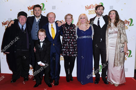 'Nativity 2' World Premiere at the Empire Leicester Square Cast - Ian Mcneice Marc Wootton Ben Wilby Jason Watkins Joanna Page Debbie Issit David Tennant and Jessica Hynes