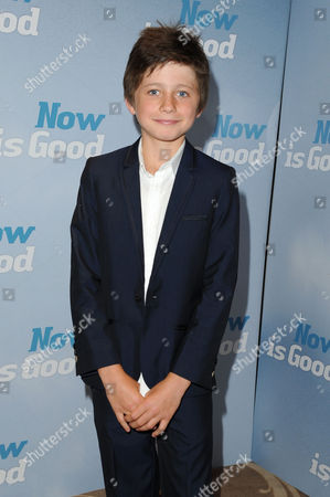 'Now is Good' Uk Premiere at the Washington Hotel and Curzon Mayfair Edgar Canham