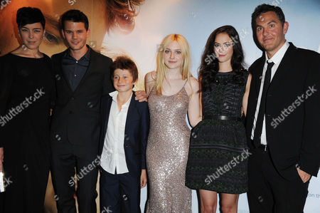 'Now is Good' Uk Premiere at the Washington Hotel and Curzon Mayfair Olivia Williams Jeremy Irvine Edgar Canham Dakota Fanning and Kaya Scodelario and Director Ol Parker