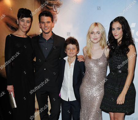 'Now is Good' Uk Premiere at the Washington Hotel and Curzon Mayfair Olivia Williams Jeremy Irvine Edgar Canham Dakota Fanning and Kaya Scodelario