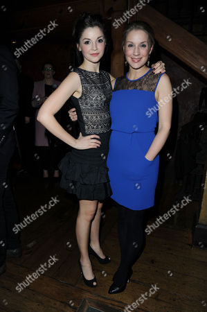'Once' Press Night After Party at Waxy's Soho Flora Spencer-longhurst and Miria Parvin