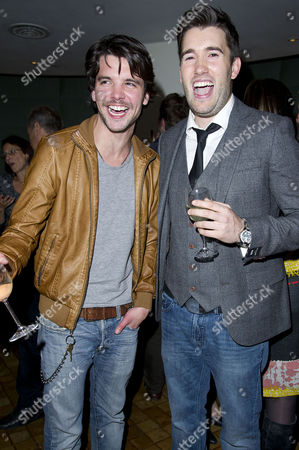 Stock Image of 'Our Boys' Press Night at the Duchess Theatre and After Party at One Aldwych Andrew Lee Potts and Anthony Lewis