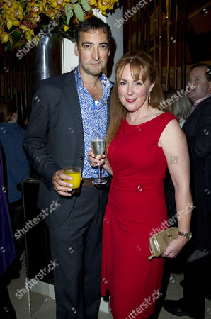'Our Boys' Press Night at the Duchess Theatre and After Party at One Aldwych Alistair Mcgowan with His Partner Charlotte Page