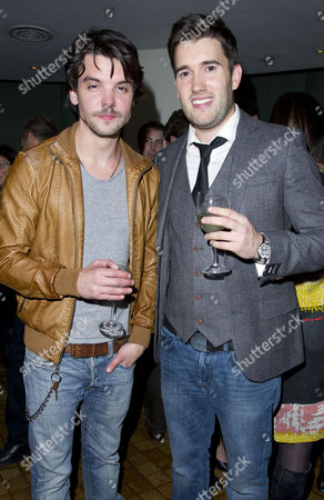 'Our Boys' Press Night at the Duchess Theatre and After Party at One Aldwych Andrew Lee Potts and Anthony Lewis