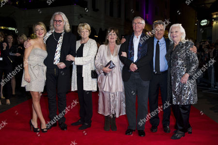 'Quartet' Screening at the Odeon Leicester Square During the 56th Bfi London Film Festival Sheridan Smith Billy Connolly Dame Maggie Smith Pauline Collins Tom Courtenay Dustin Hoffman and Dame Gwyneth Jones