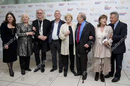 'Quartet' Screening at the Odeon Leicester Square During the 56th Bfi London Film Festival Finola Dwyer (producer) Dame Gwyneth Jones Billy Connolly Tom Courtenay Dame Maggie Smith Ronald Harwood (writer) Pauline Collins and Dustin Hoffman