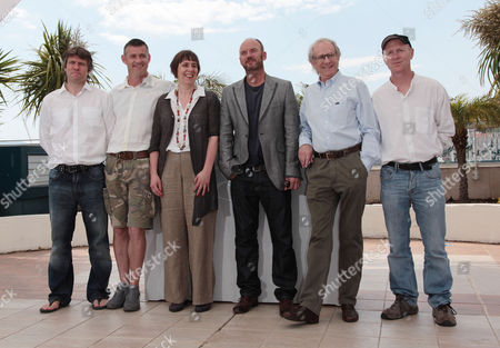 'Route Irish' Photocall at the Festival De Palais During the 63rd Cannes Film Festival John Bishop Jack Fortune Rebecca O'brien Mark Womack Ken Loach and Paul Laverty