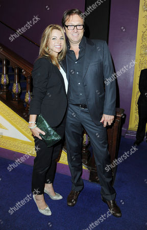 'Shadow Dancer' Premiere at the Cineworld Haymarket Producer Chris Coen with His Wife Caroline